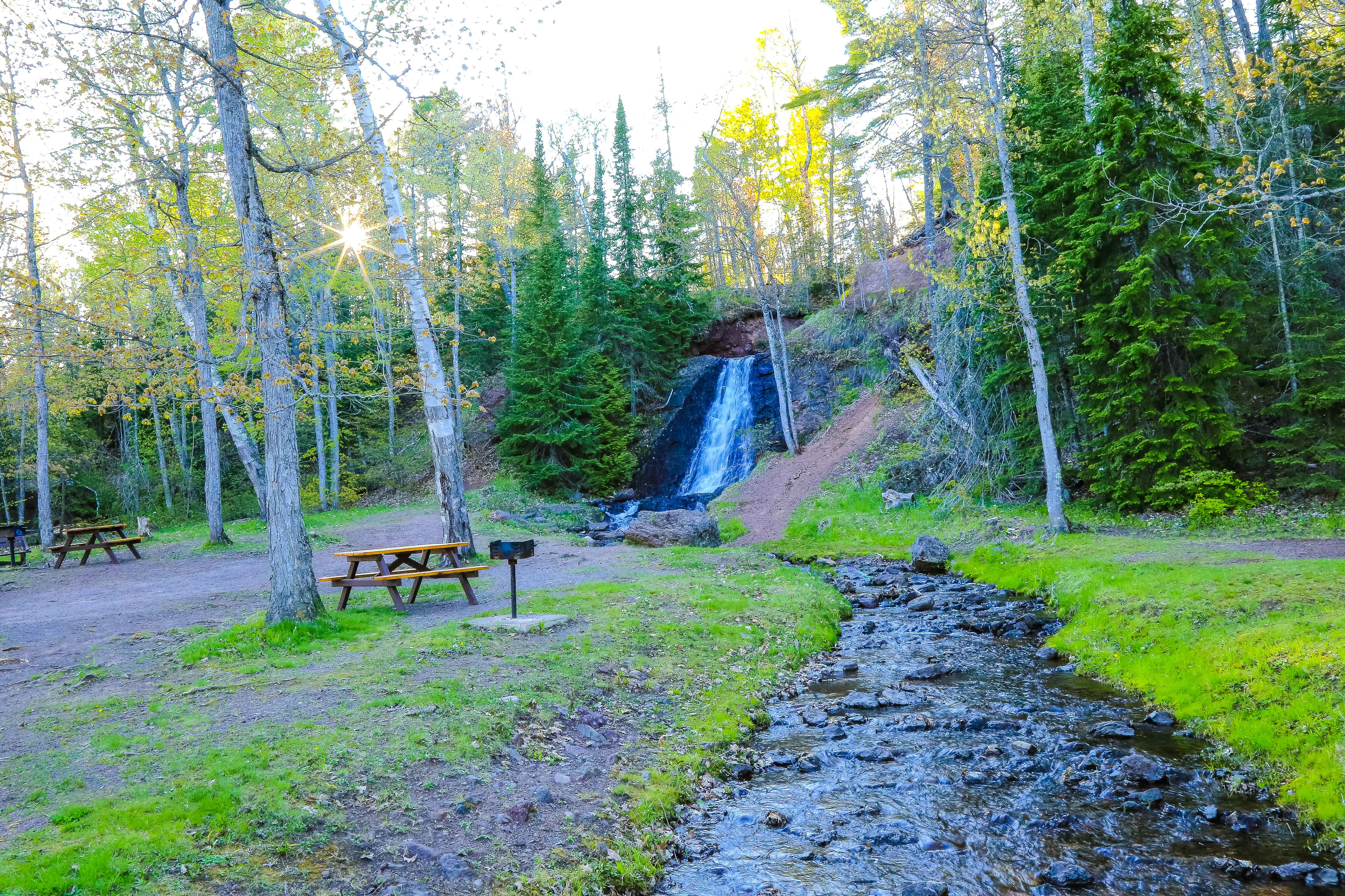 Parks near the Wilderness Resort in Lac La Belle Michigan