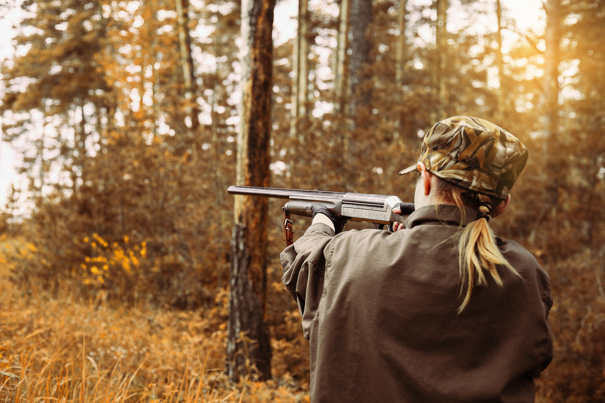 Hunting in Lac La Belle near the Wilderness Resort