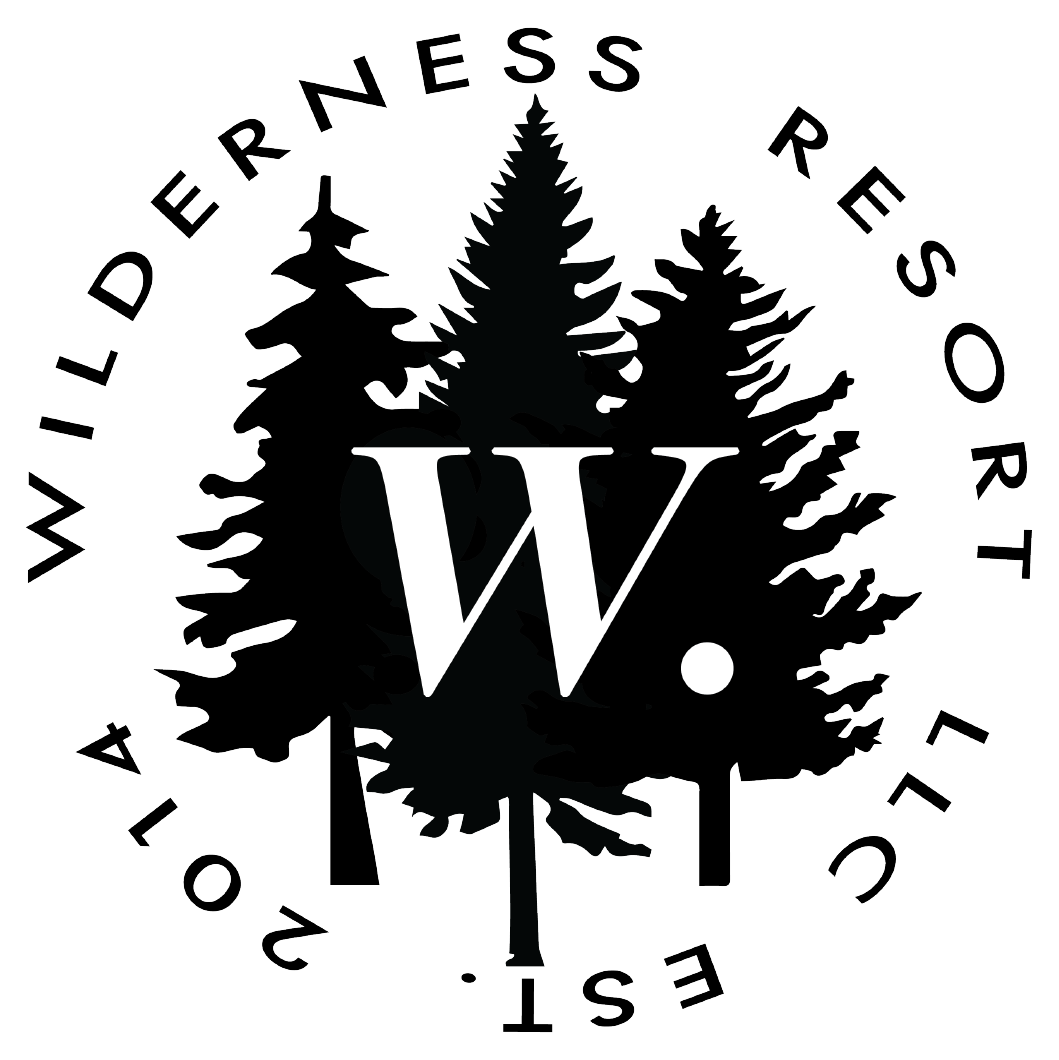 New logo new look of the Wilderness Resort in Lac La Belle Michigan