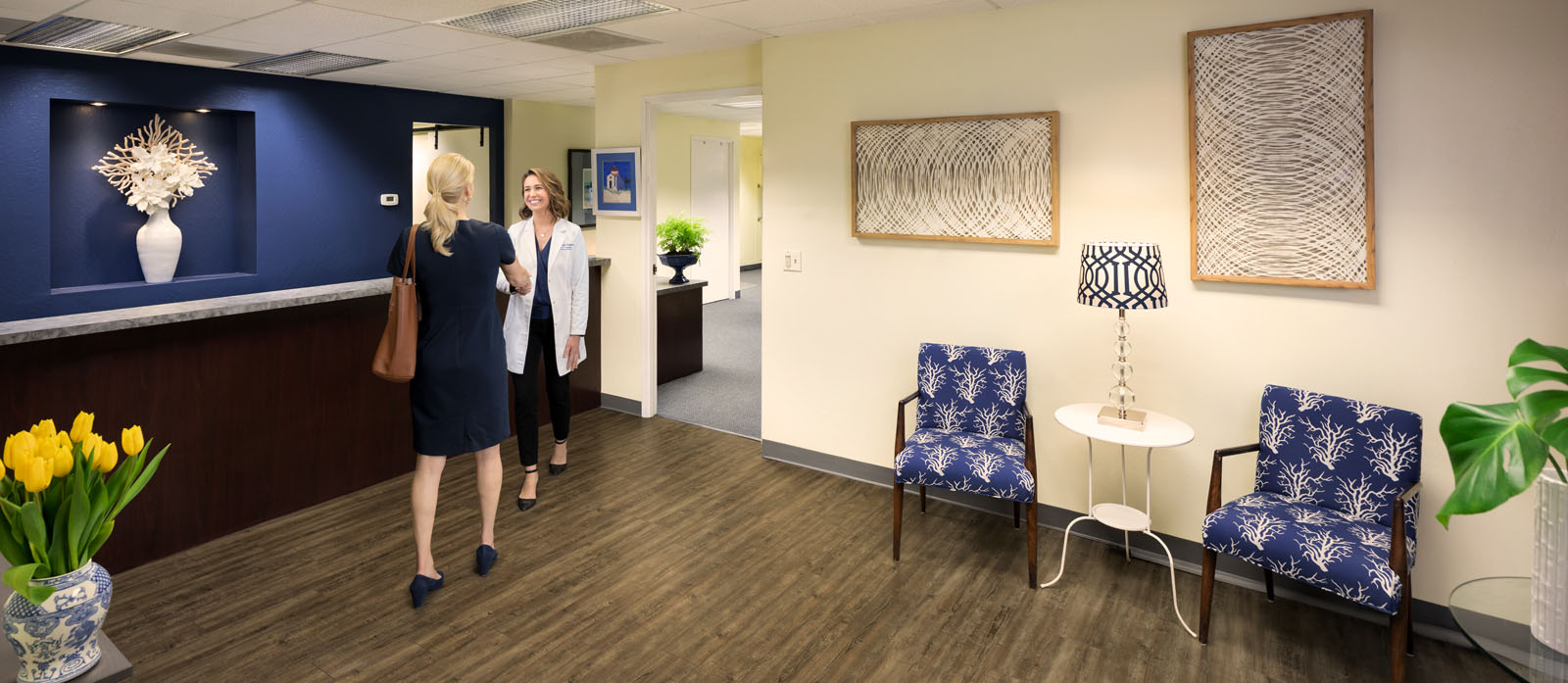 The Hearing Solution Sacramento Audiologist Office Interior