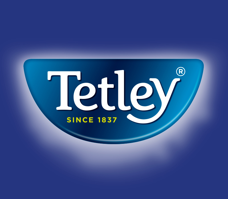 Pemberton & Whitefoord LLP have been working with Tata Global Beverages for many years, this image is of Tetley's logo. P&W assist Tetley with poster design, graphic design, brochure design and more.