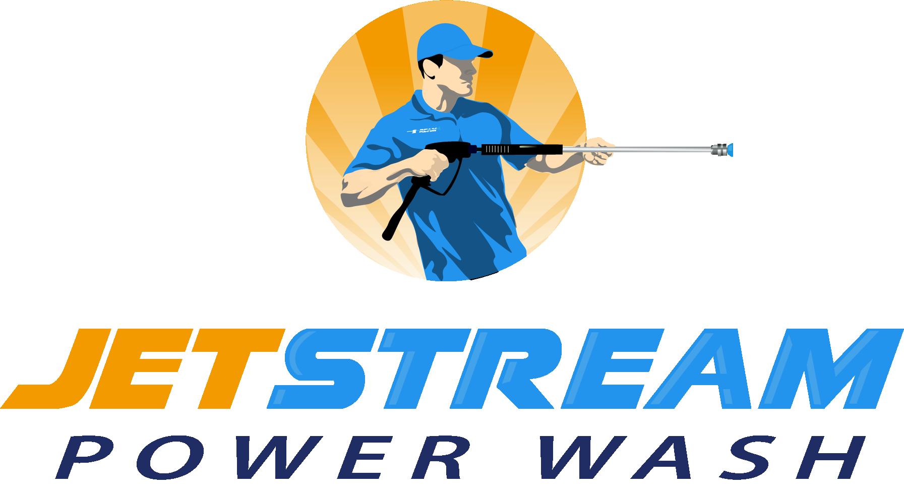 client pressure washing logo