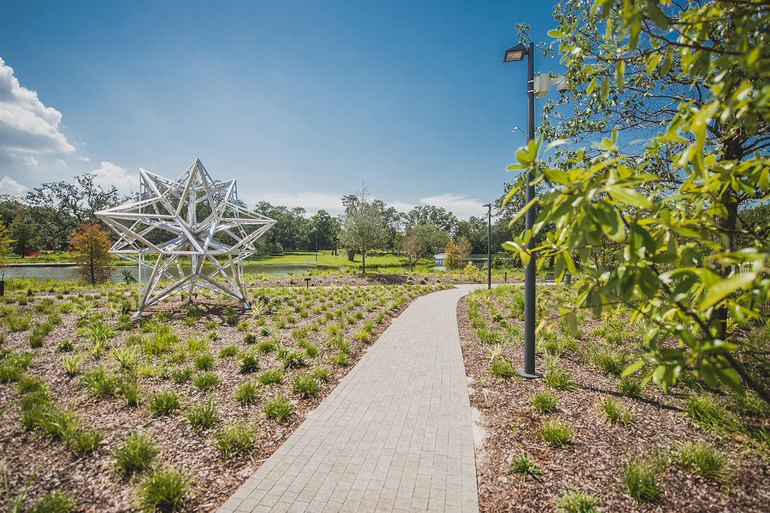 SYDNEY AND WALDA BESTHOFF SCULPTURE GARDEN EXPANSION
