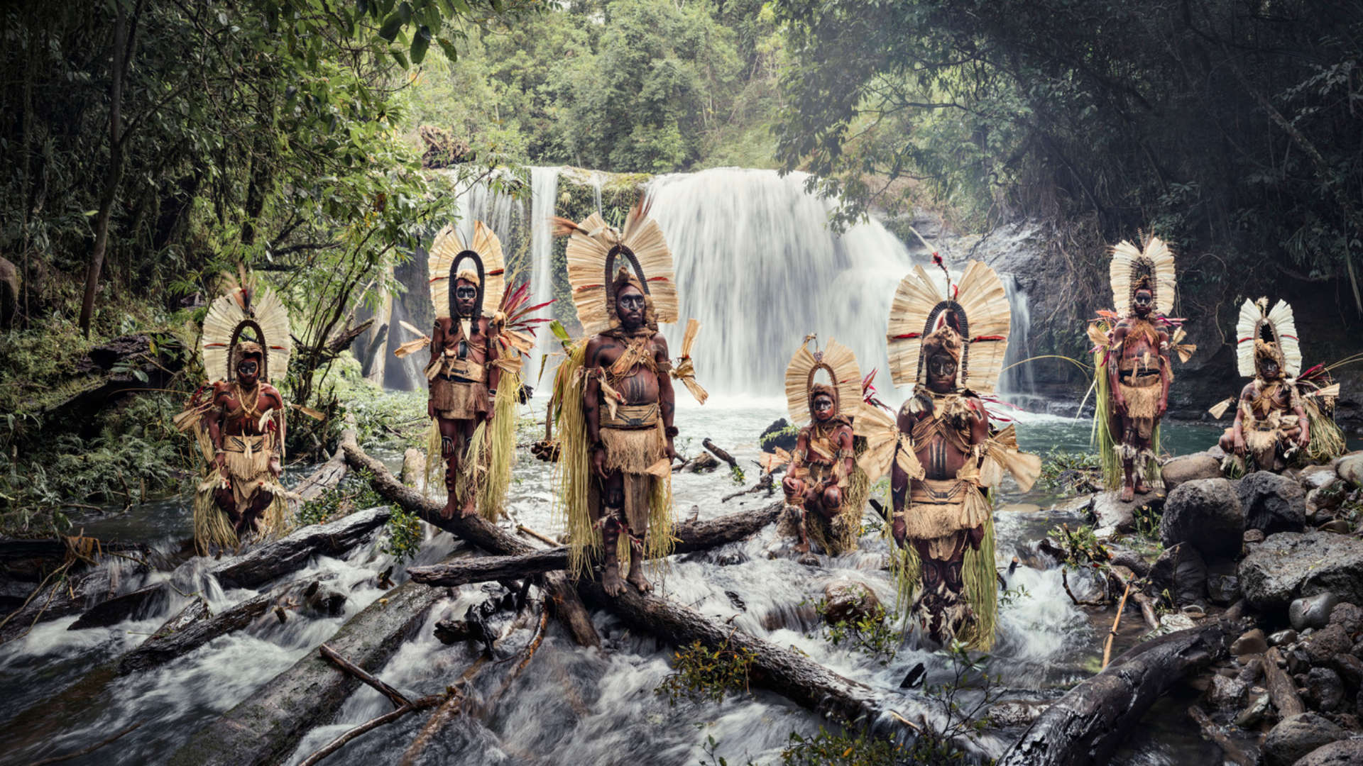Kaluli stam, Mount Bosavi, Papoea-Nieuw-Guinea