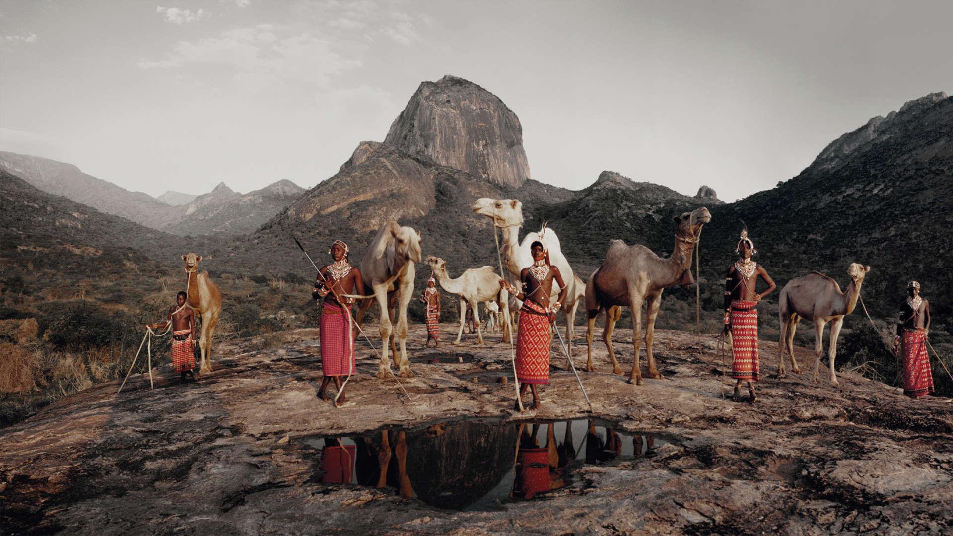 Samburu stam, Lelesas, Kenia