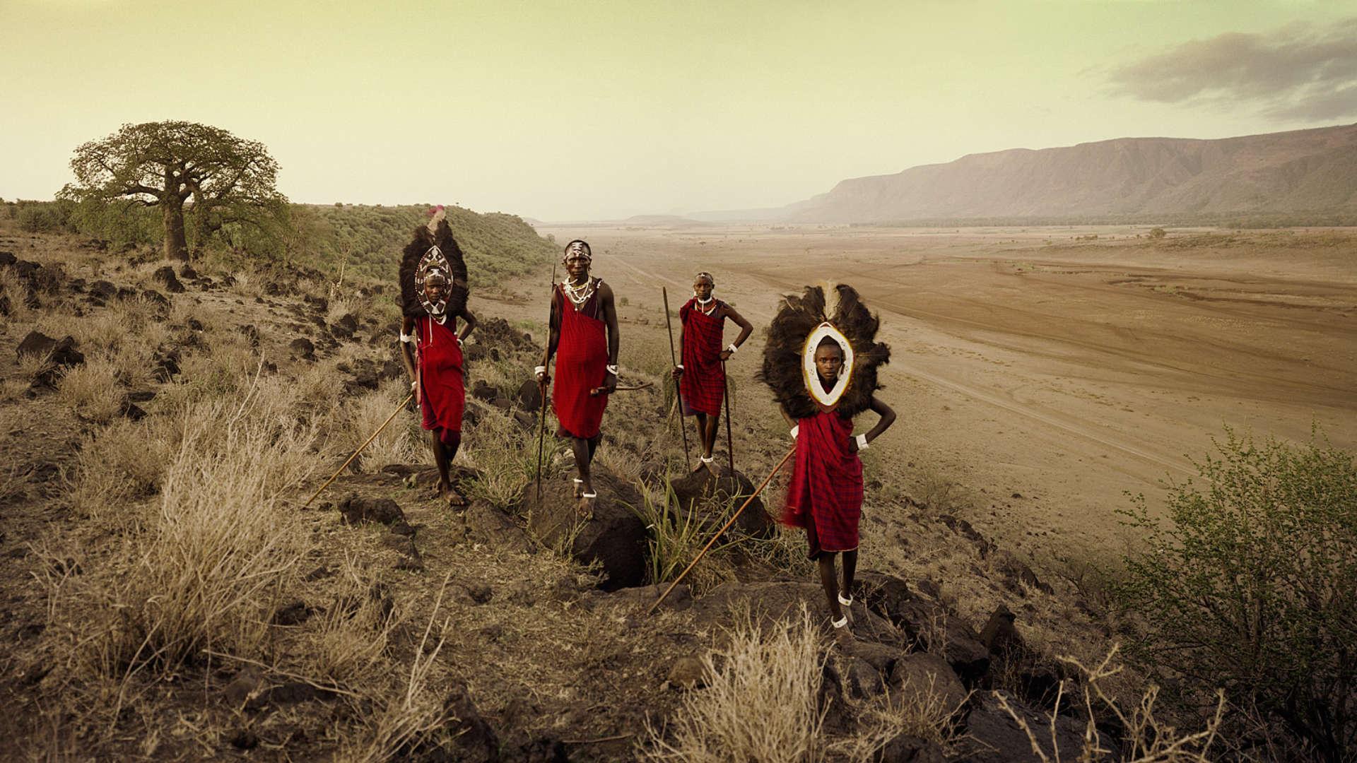 Masai stam, Tarangire, Tanzania