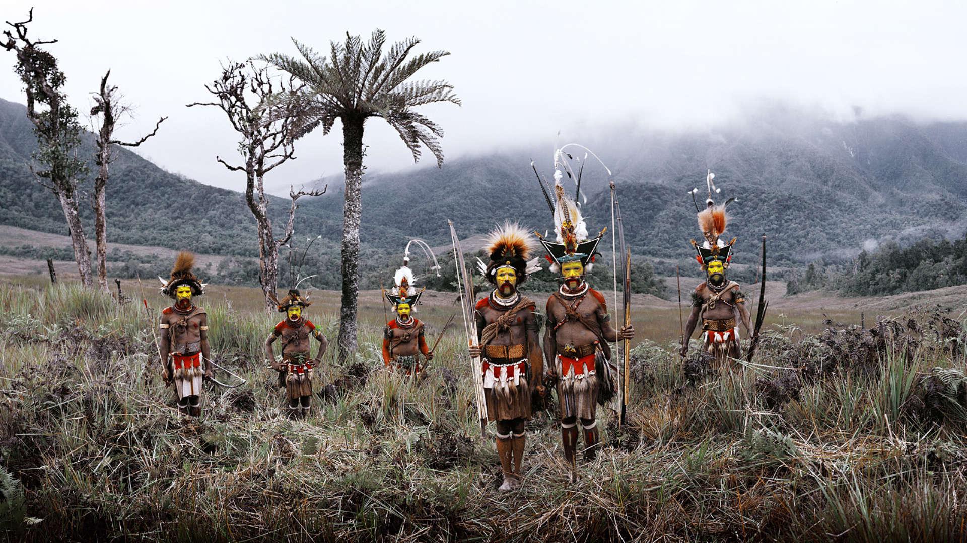 Huli stam, Tari vallei, Papoea-Nieuw-Guinea