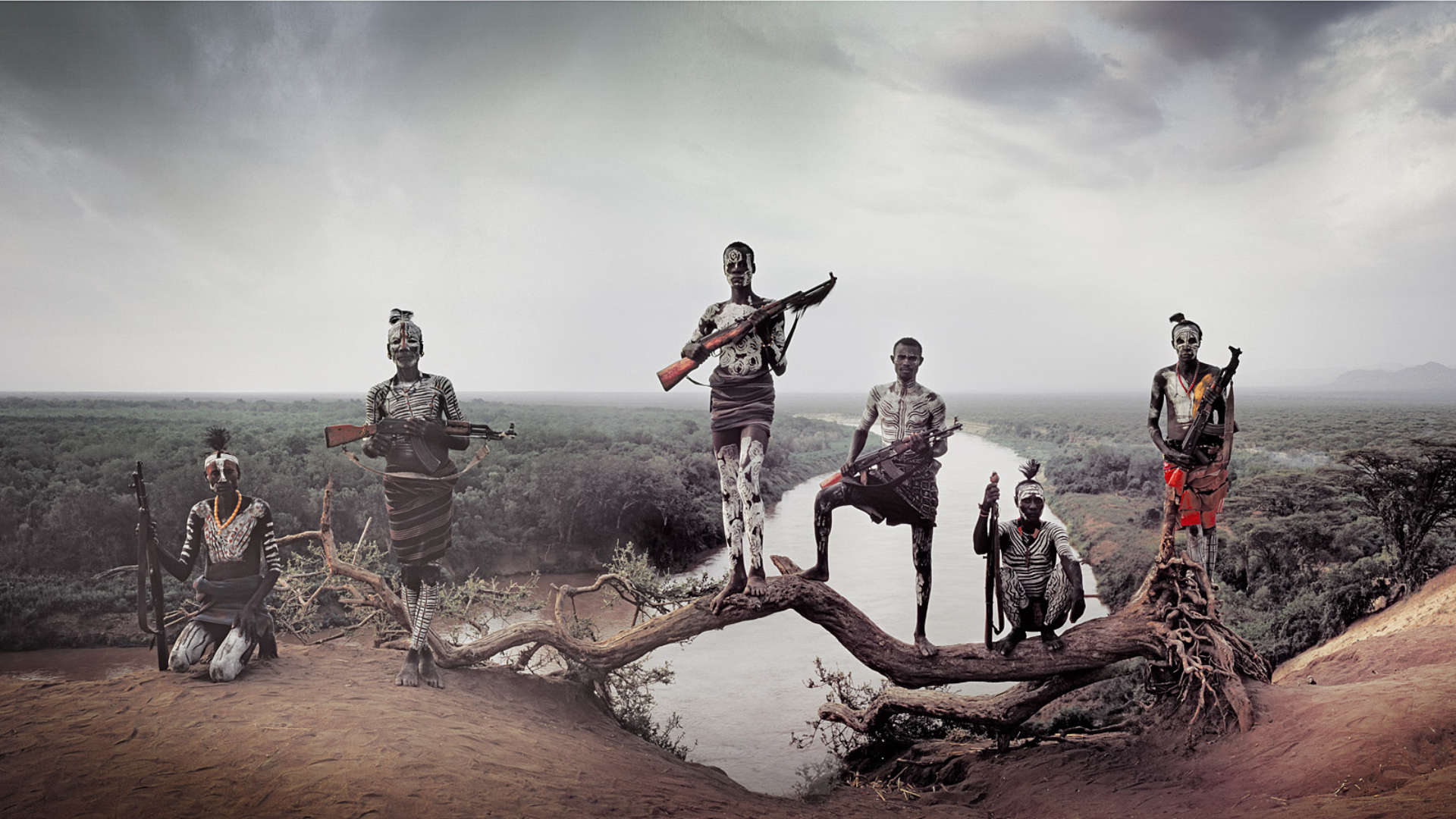 Karo stam, Omo vallei, Ethiopië