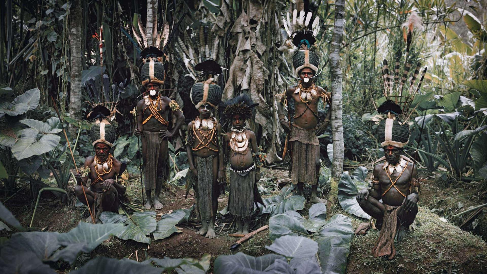 Kalam stam, Nukunt, Papoea-Nieuw-Guinea