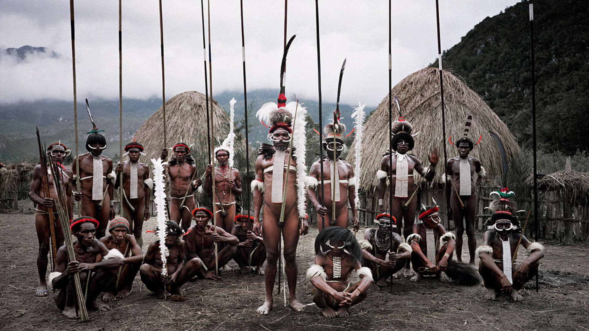 Dani stam, Yetni, Papoea-Nieuw-Guinea