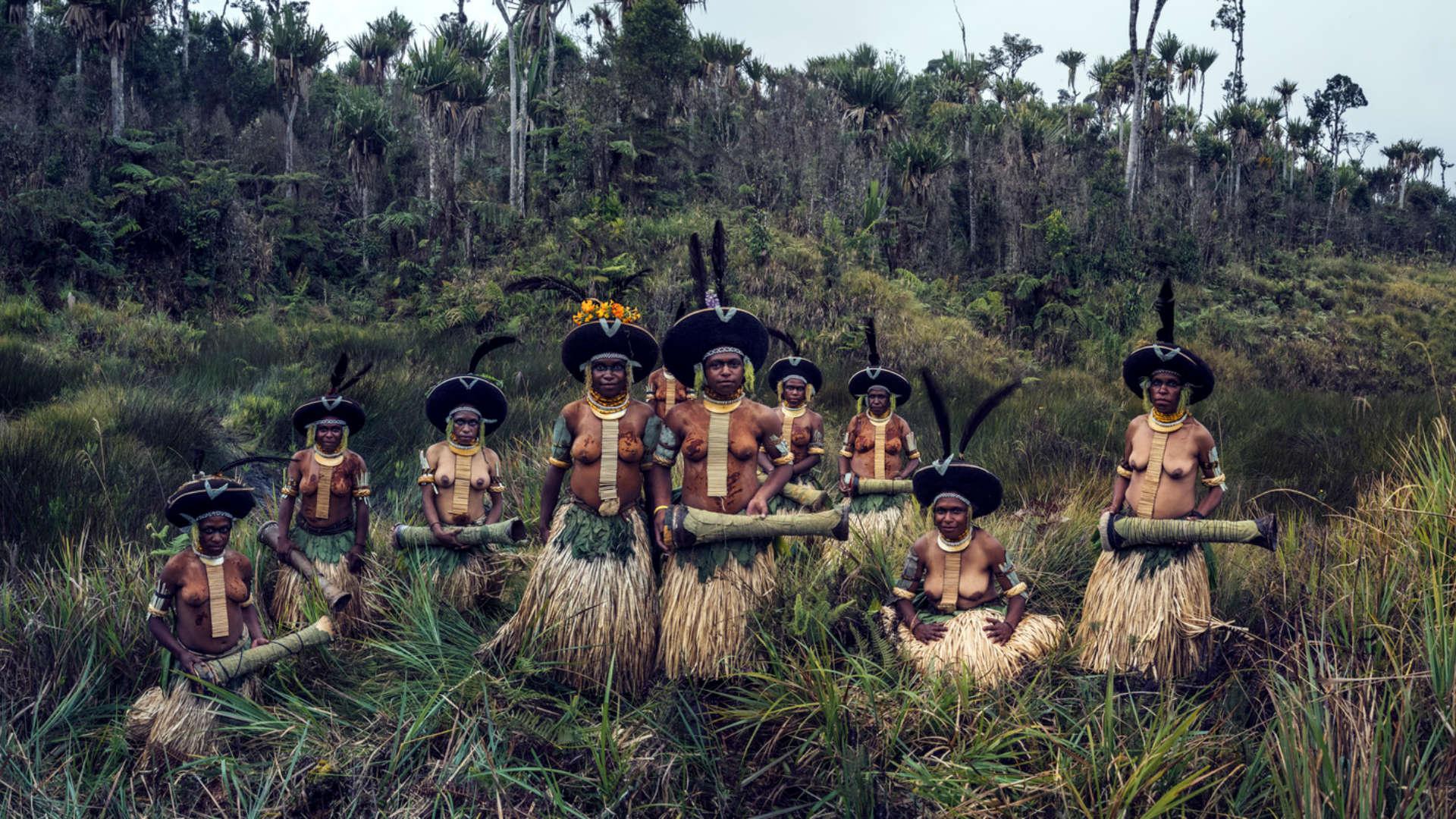 Enga stam, Enga, Papoea-Nieuw-Guinea