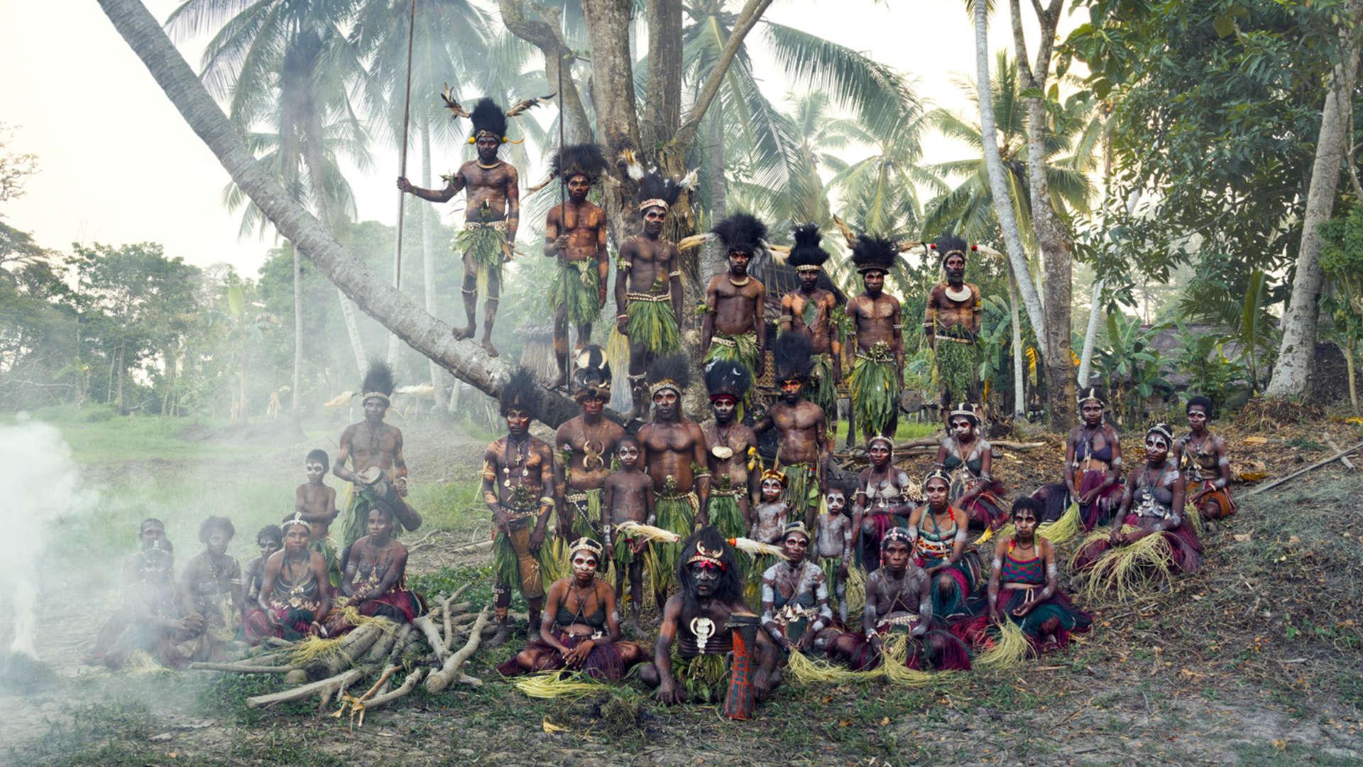 Iatmul stam, Palimbei, Papoea-Nieuw-Guinea