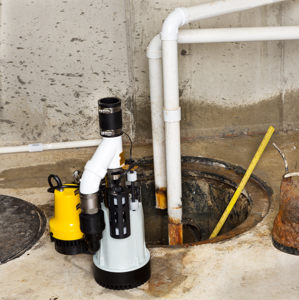 sump pump installation