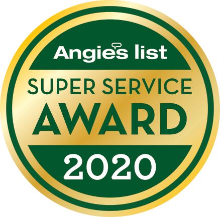 2020 Angie's List Super Service Award