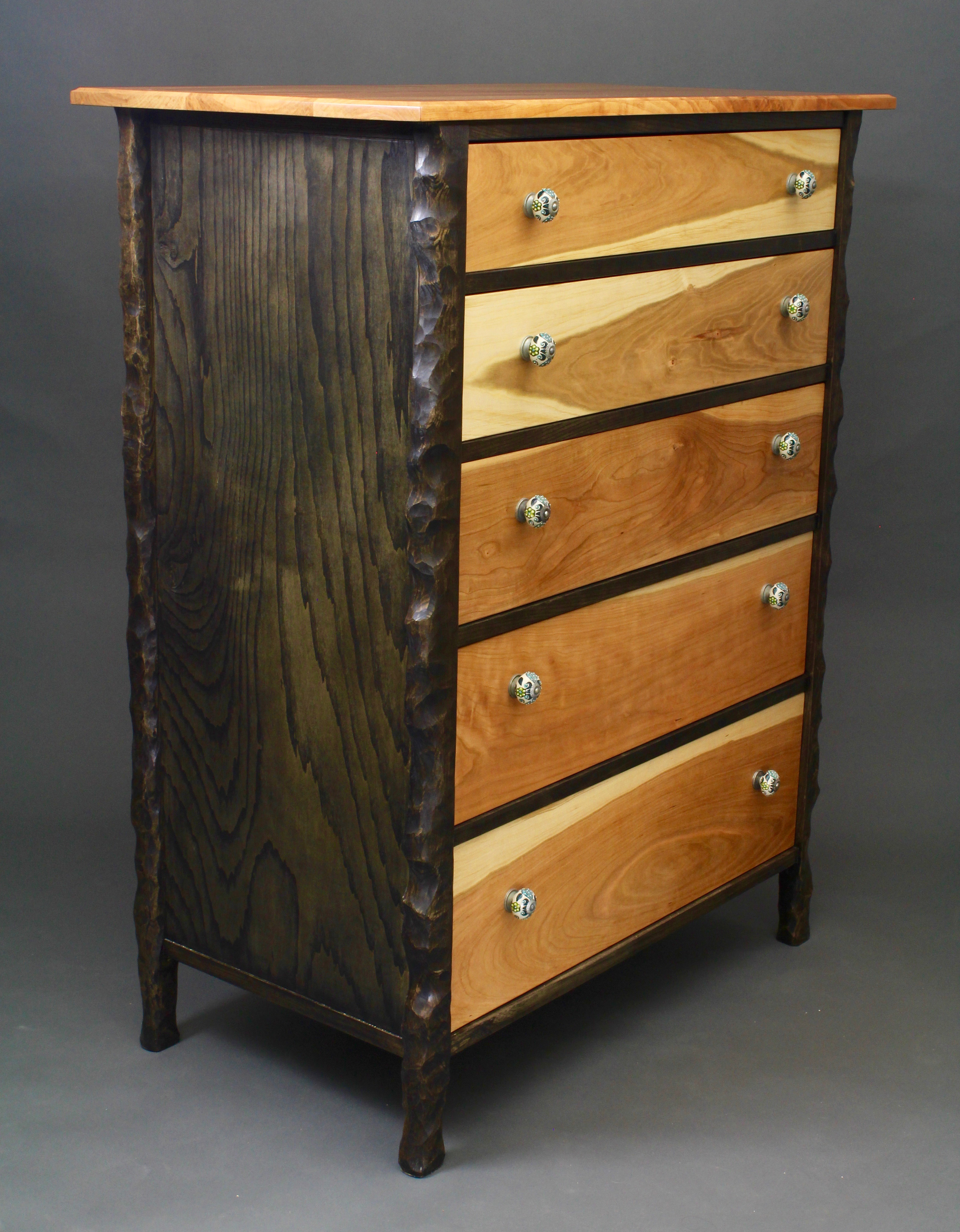 Sculpted Chest Of Drawers