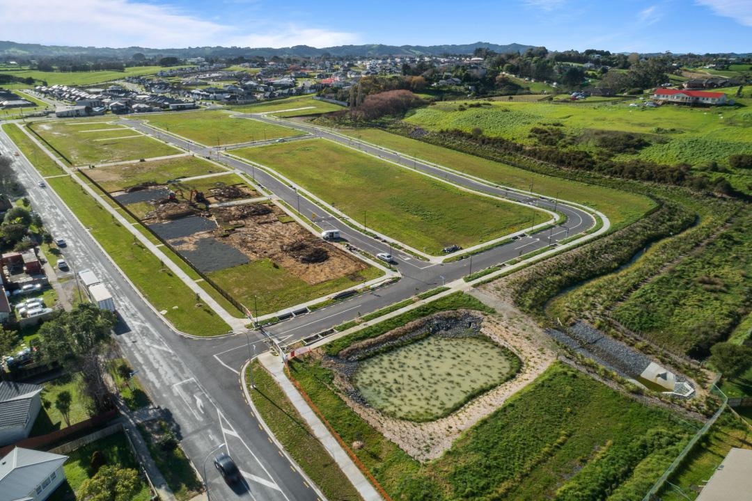 Grass recovery at Papakura new development