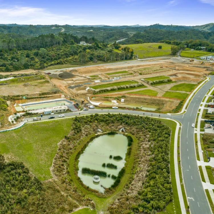 Halls Farm stage 2 subdivision development