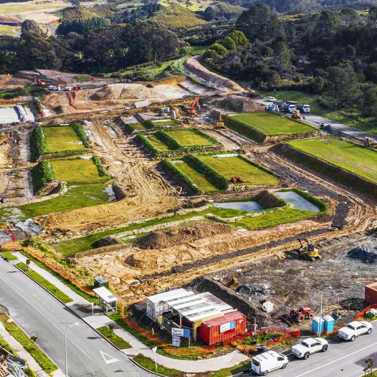 Halls Farm stage 15 subdivision development