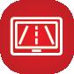icono monitor carretera