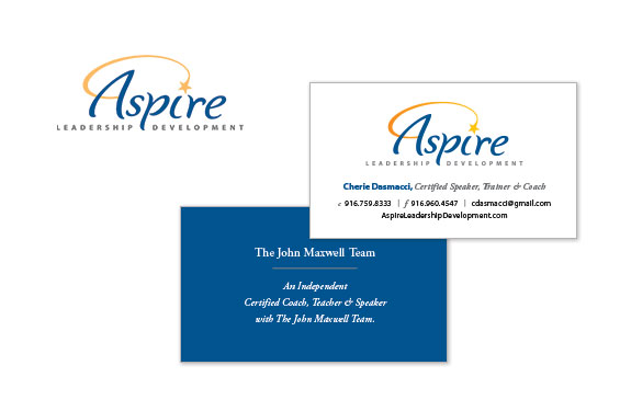 Aspire Logo and Business Cards