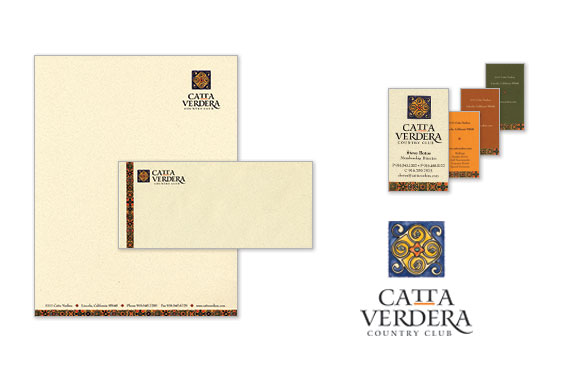 Catta Verdera Country Club Logo and Stationery