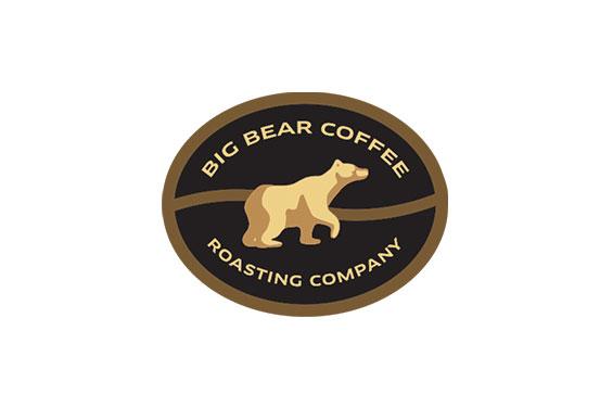 Big Bear Coffee Roasting Company Logo and Label