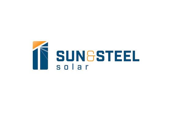 Sun & Steel Logo Design