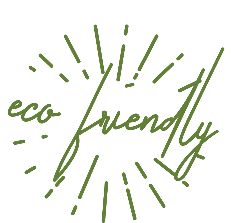 An image with the word eco friendly