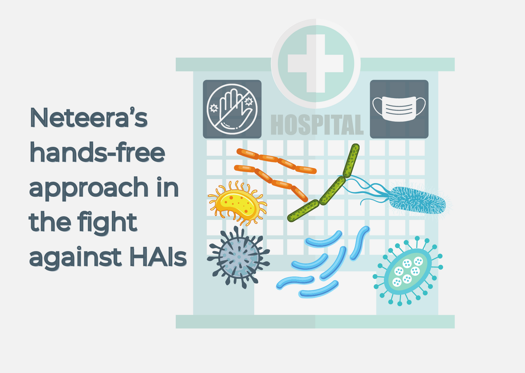 Neteera's hands-free approach in the fight against healthcare-associated infections