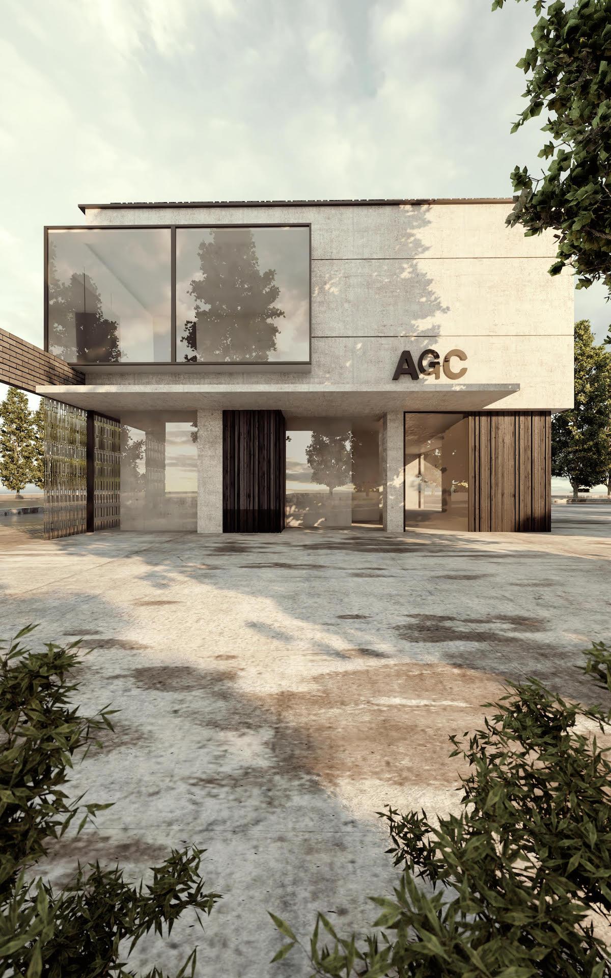 AGC exterior rendering