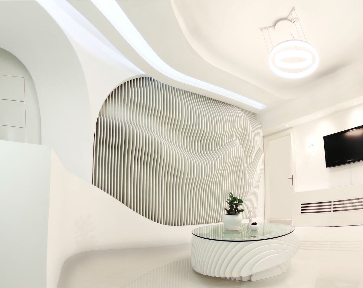 Interior design of dental clinic