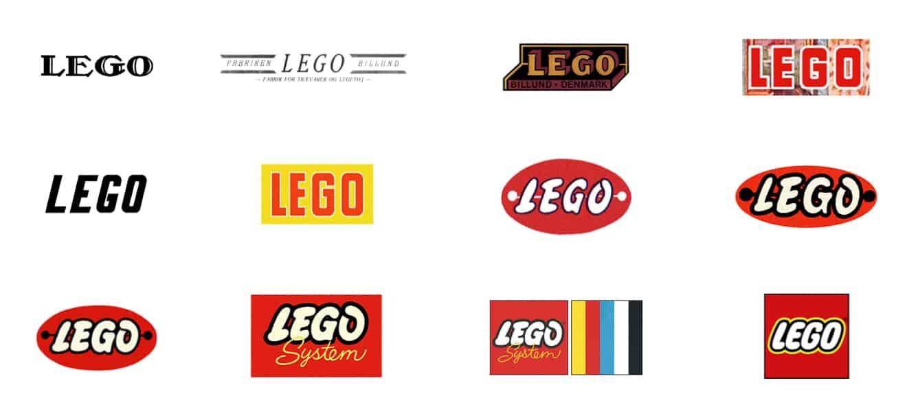 lego logo historie