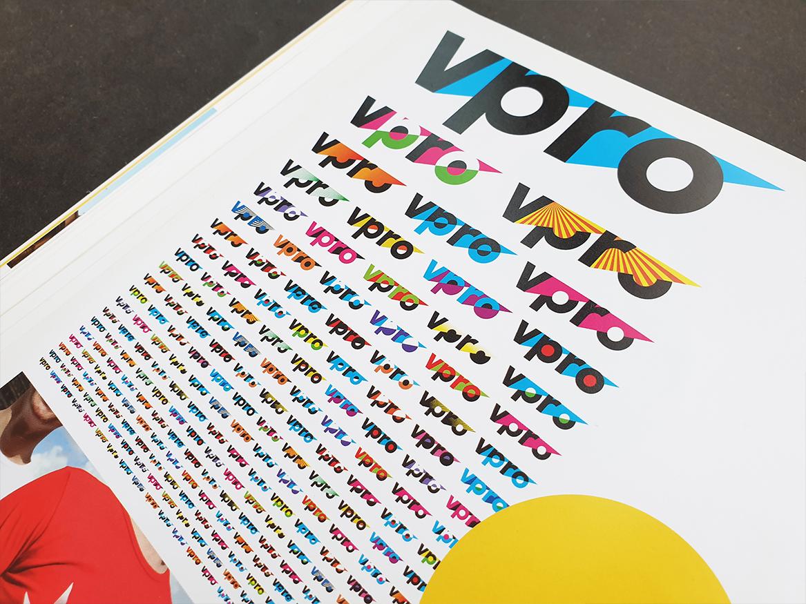 Branding VPRO dynamische identiteit
