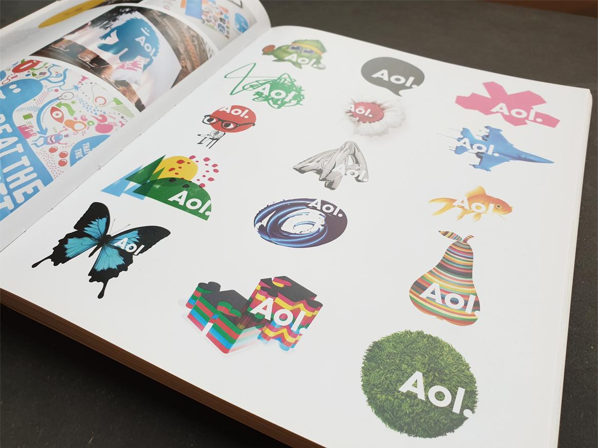 Aol. branding dynamische identiteit