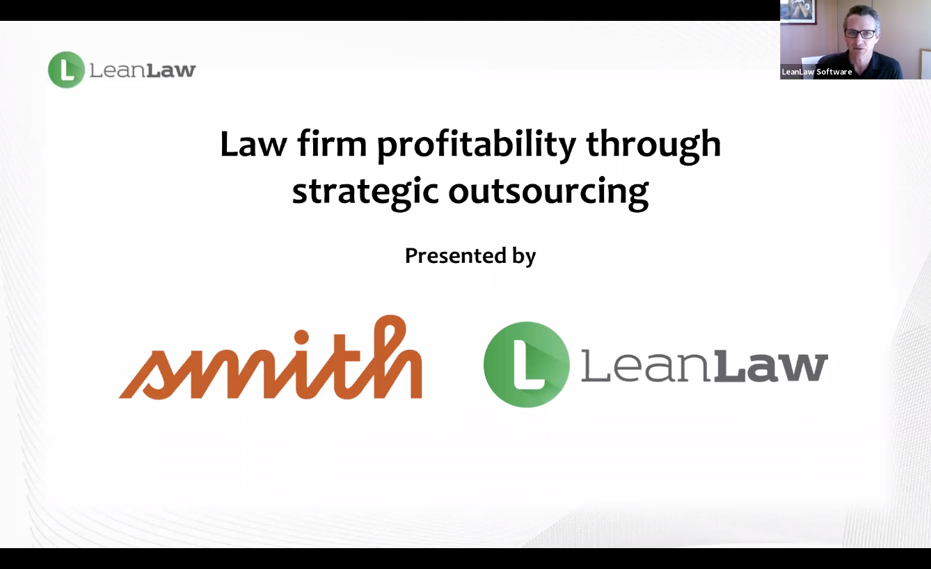 [VIDEO] Smith.ai & LeanLaw Webinar: Law Firm Profitability Through Strategic Outsourcing