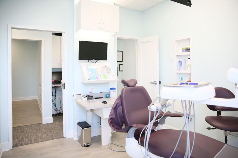 Interior dental office
