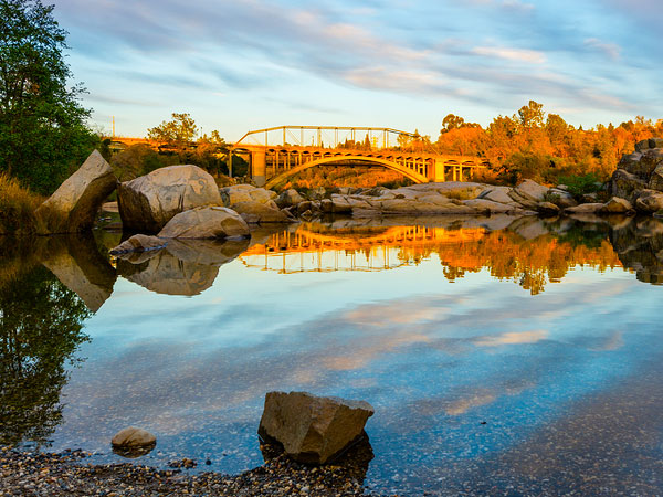 Photo of the Folsom's Rainbow Bridge