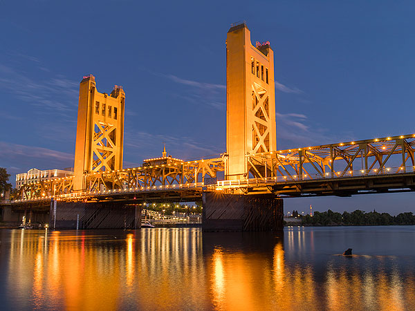 Photo of the Sacramento Tower Bridge