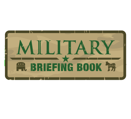 Military Briefing Book Logo