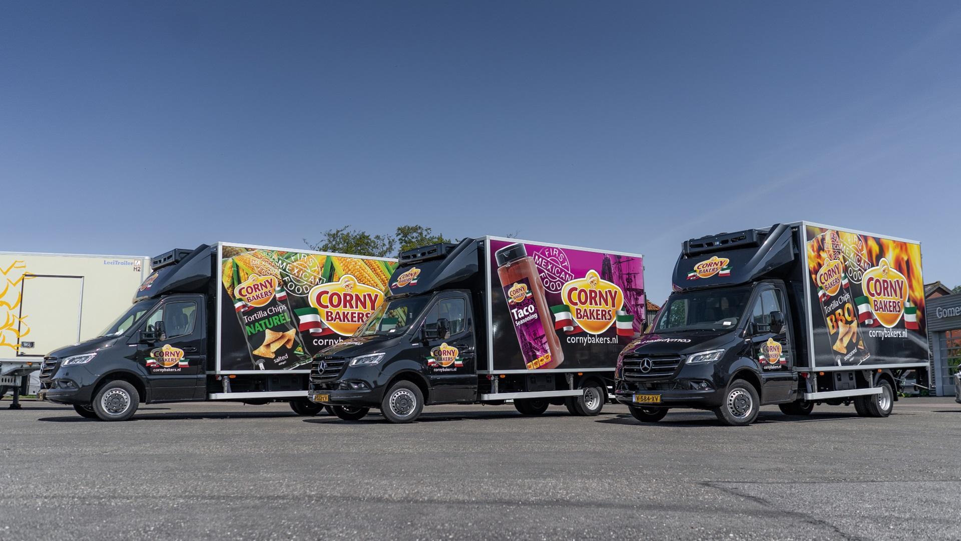 autoreclame vrachtwagenbelettering fleetmarking