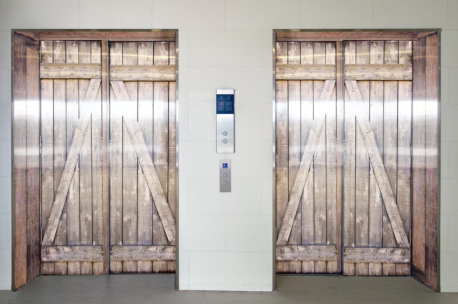 deuren lift wrapping interieur oplossingen zorg