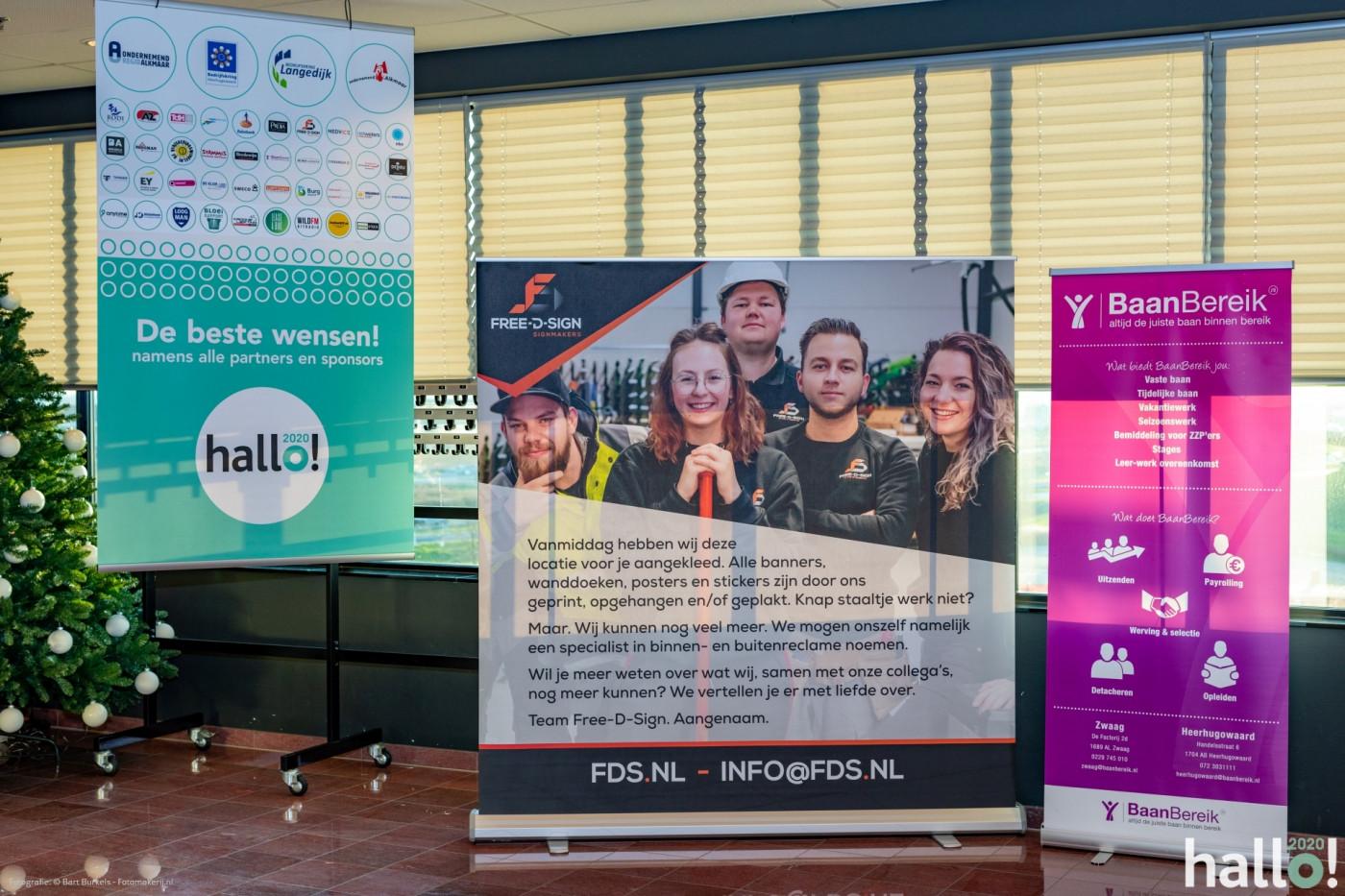 promotie banners banieren reclame beurzen