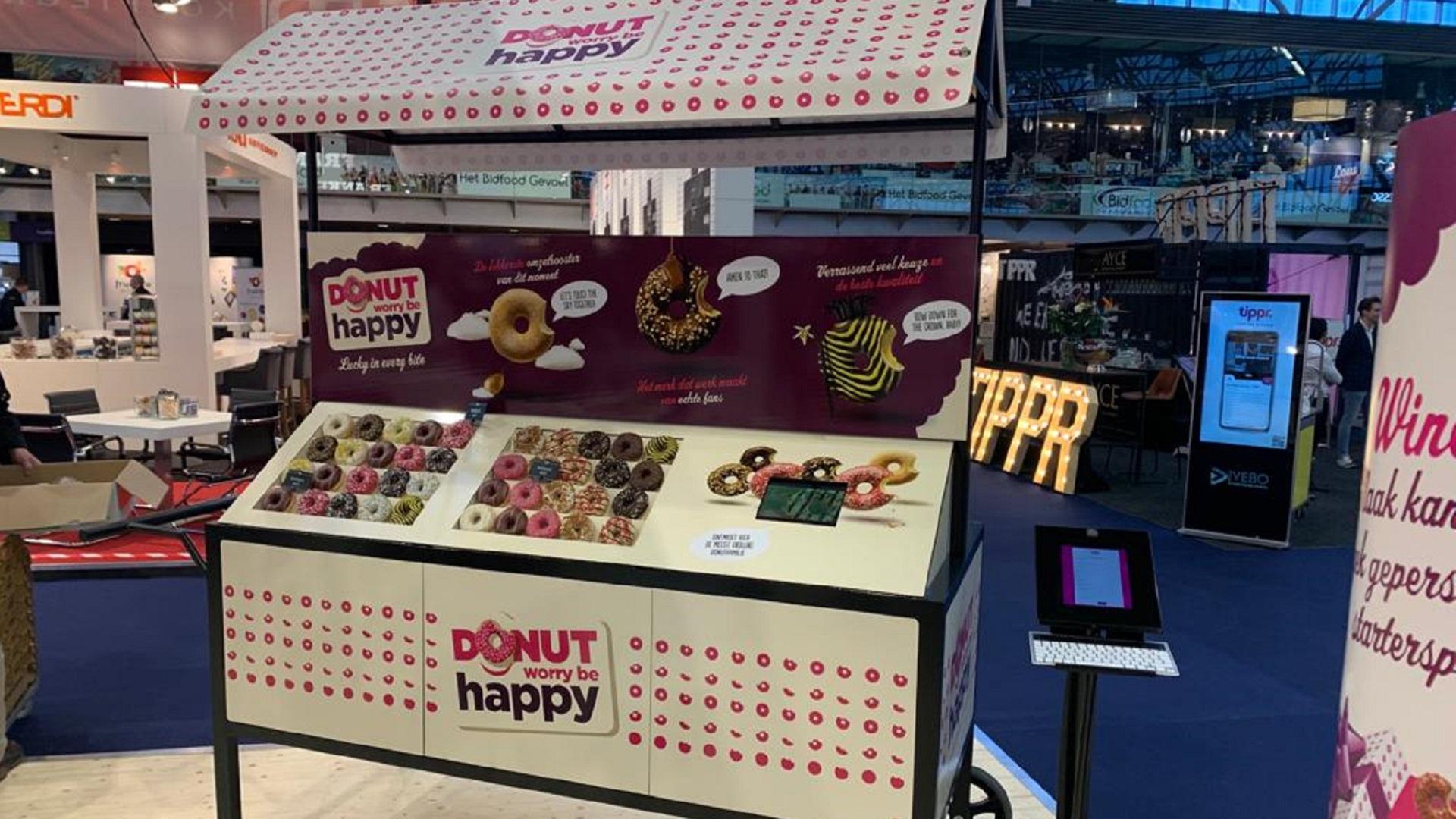 Donuts op de beurs