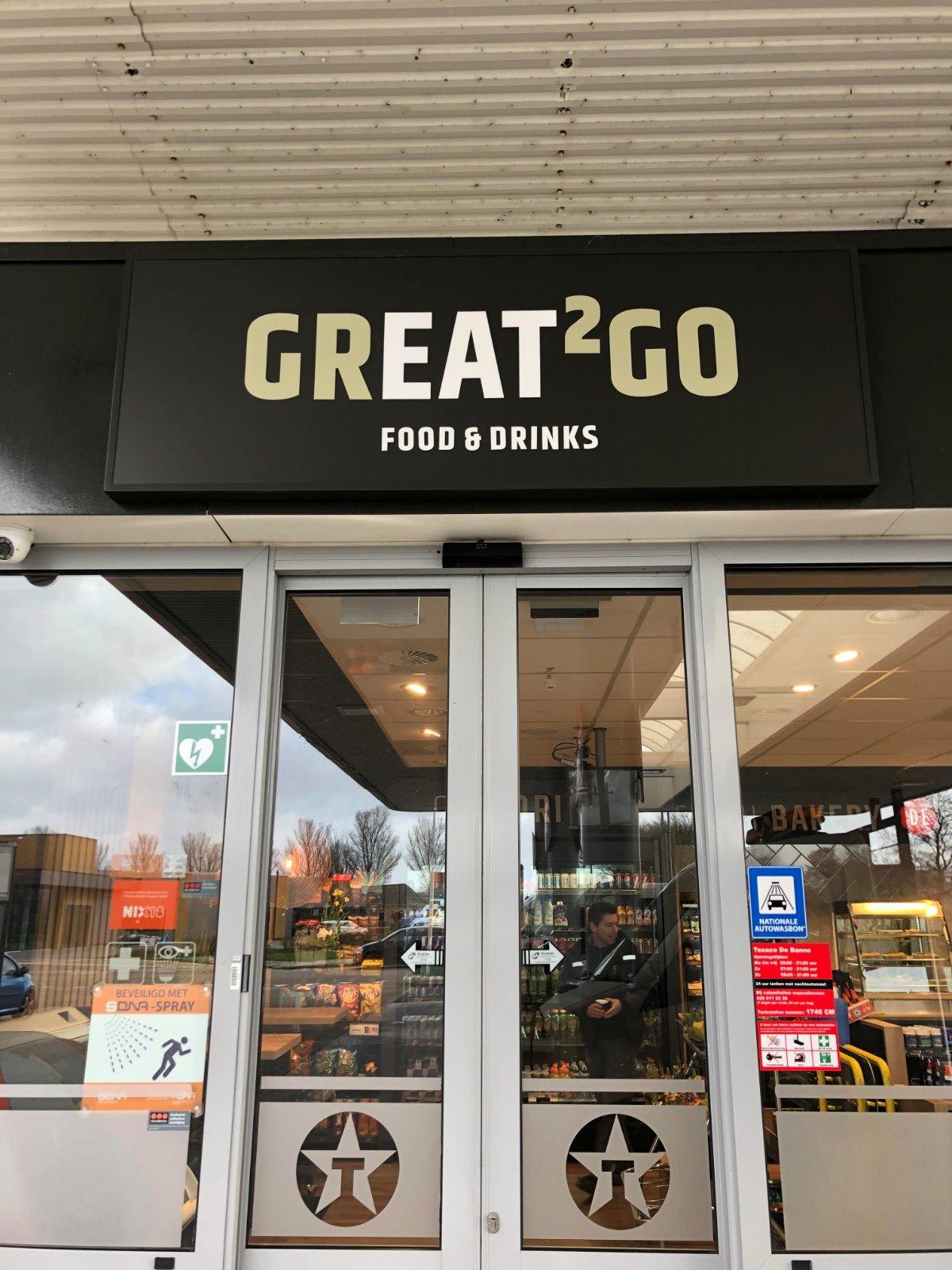 Texaco Great2go winkelconcept