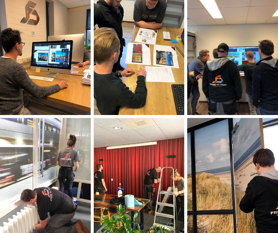 FDS team projectontwikkeling ontwerp dtp productie montage