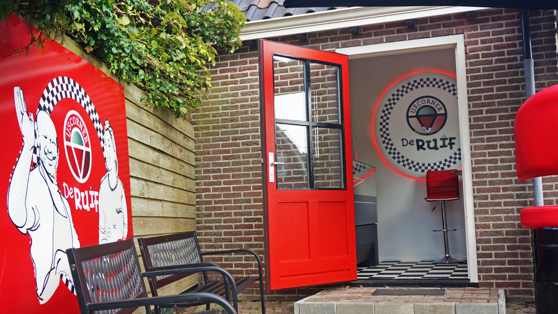 Horeca signing voor RuiG & IJscorner De Ruif