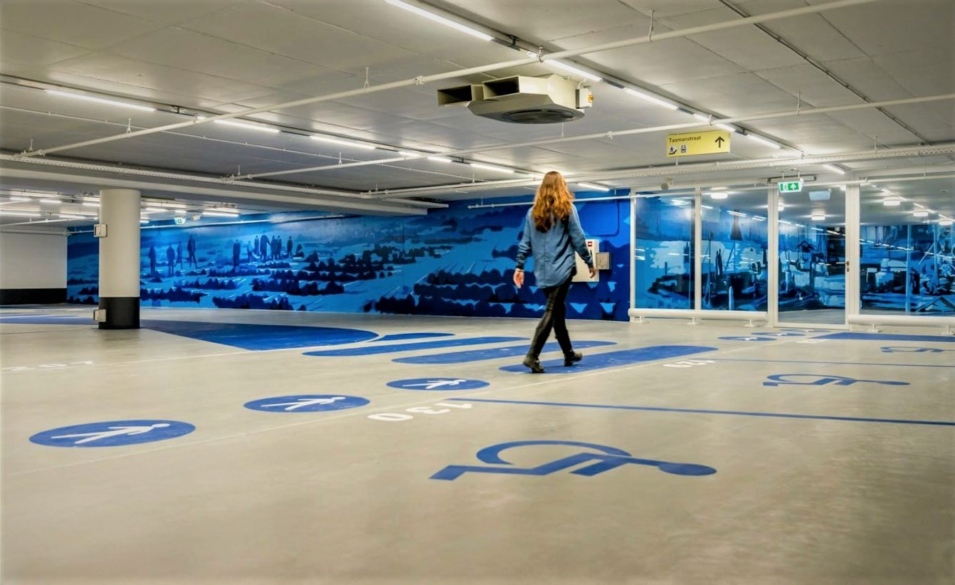 Parkeergarage Signing FDS Signmakers