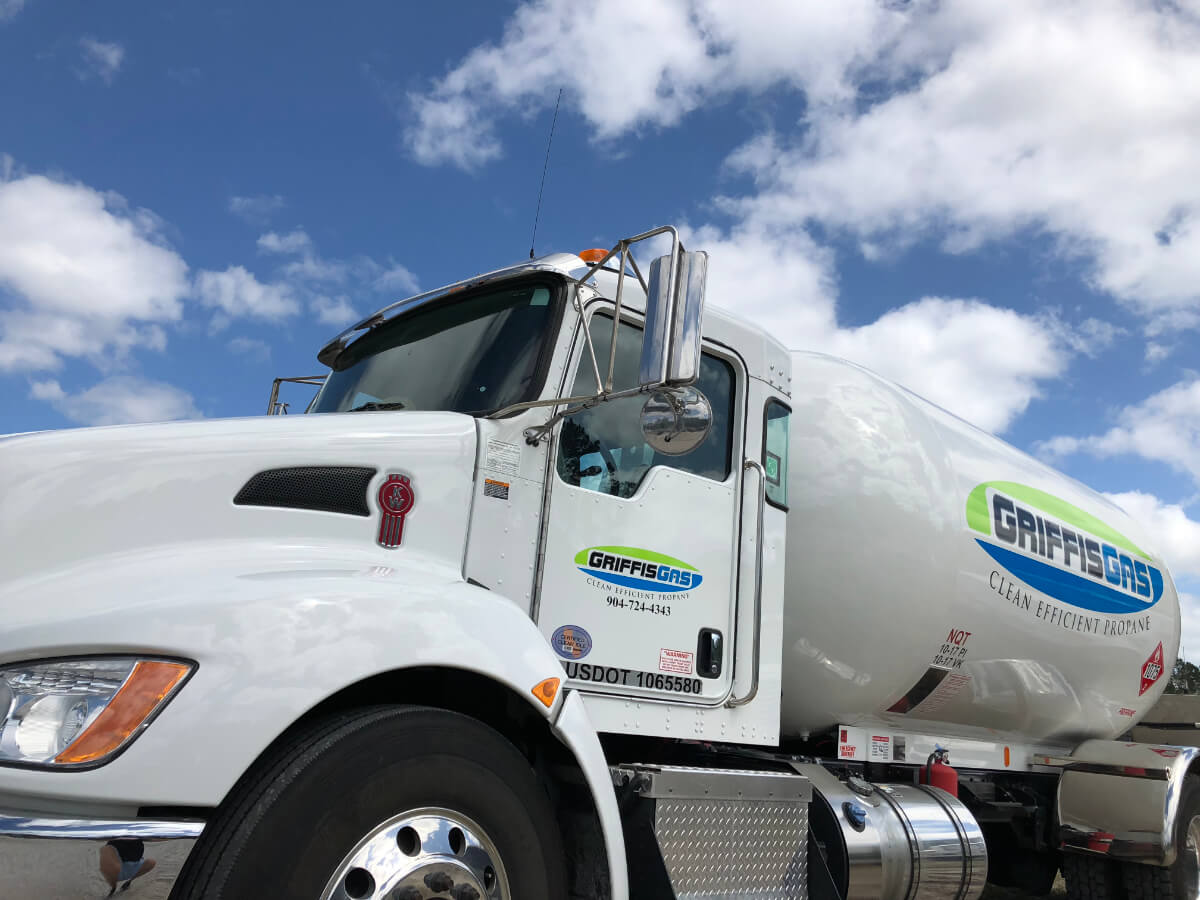 Griffis Gas Propane Truck Jacksonville