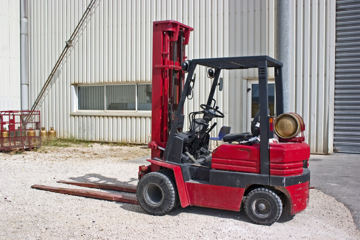 Forklift Propane Powered