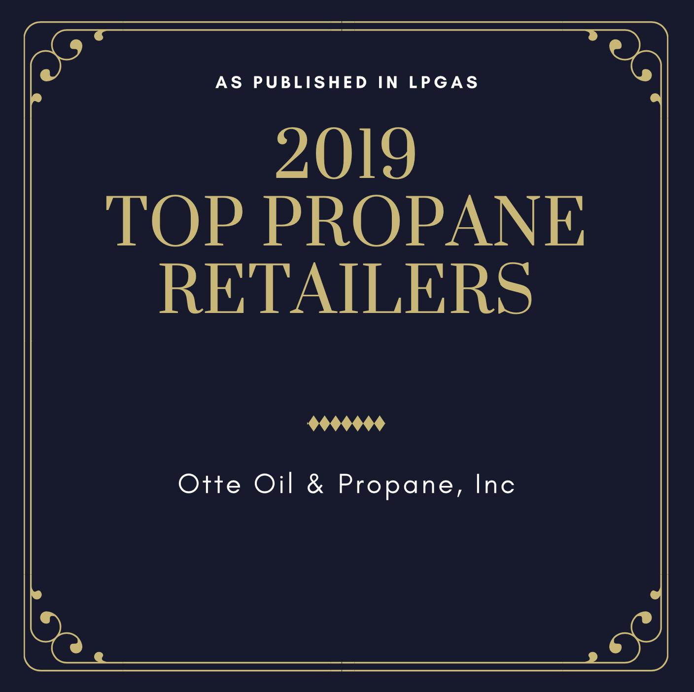 Otte Oil Top Propane Retailer Nebraska 2019